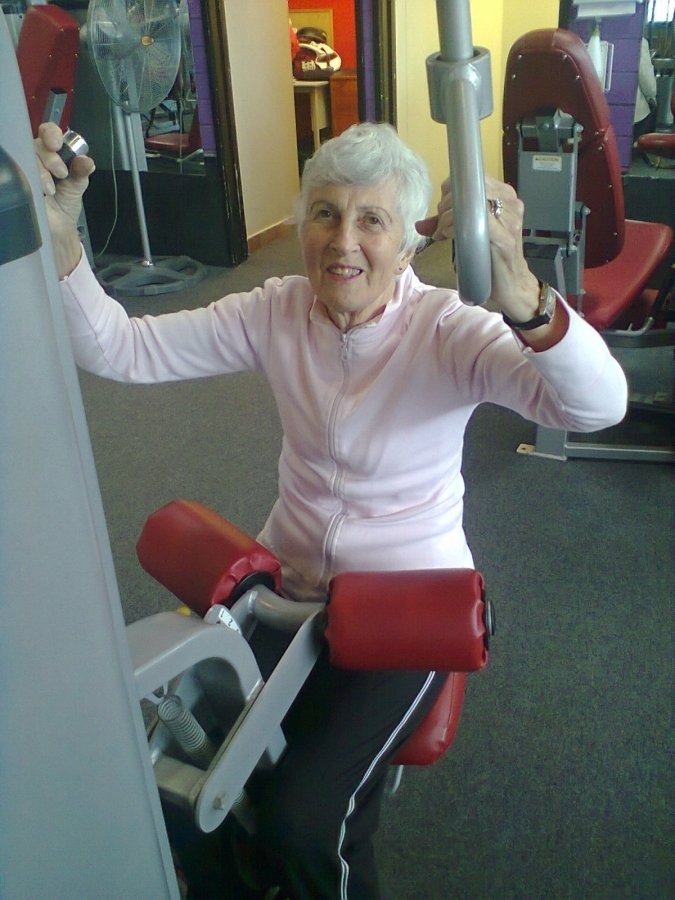 Elderly strength and mobility personal training