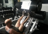 elite athlete training - leg press