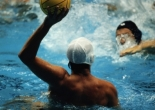 elite athlete training - water polo
