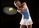 elite athlete training - tennis