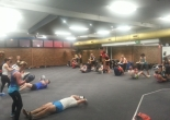 K1Sport Fitness Boxing Training Class in action