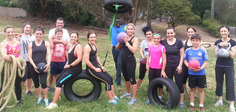 Boot Camp Group Pose